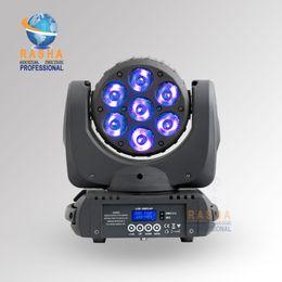 Rgbw conduit faisceau mobile de la tête en Ligne-Gros-Nouvelle 7 * 12W RGBW RGBW Cris 4in1 LED Moving Head faisceau, Super Sharpy faisceau lumineux à affichage LCD, Powercon, 110-240V