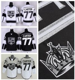 2016 New, Los Angeles LA Kings Jersey 77 Jeff Carter Jersey Stadium Series Ice Hockey Jerseys Los Angeles Kings Alternate Black White