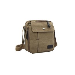 Wholesale-Free Shipping Men Messenger Bags Outdoor Brand Vintage Men's Travel Bag Casual Canvas Bags Men Crossbody Bag