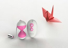 Wholesale price wireless control double ball mini sex vibrators sex toy lithium battery jump eggs gift box packaging