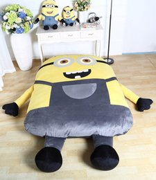 Wholesale 1 X1 M cartoon single bed X2M thickened double bed soft big sofa sleeping bed sleeping bag tatami large gift toll mattress