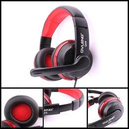 Casque d'écoute VYKON Q13 original d'origine Casque d'écoute stéréo pliable superbe de jeu d'écouteurs de jeu avec le contrôle de ligne de microphone à partir de jeu casque professionnel fabricateur