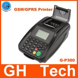 Wholesale Wireless GSM SMS GPRS Printer for restaurant Fast food Hotel online order system