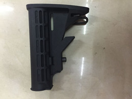 Wholesale 6 Position Solid Locking Case Collapsible Black Butt Stock Fit For AK Series