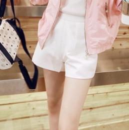 Tipos de pantalones cortos para las mujeres en Línea-El tipo fino delgado de la manera de la buena nueva versión del verano de la alta calidad 2015 adelgaza el envío libre FG1511 de las mujeres del Todo-