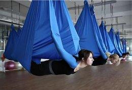 Wholesale Elastic anti gravity air Yoga tape width of meters Length of meters No splicing hammoc