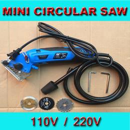 Wholesale 110v with US plug Mini Circular Saw Multi Function saw woodworking power tool Electric Mini Saw Tool