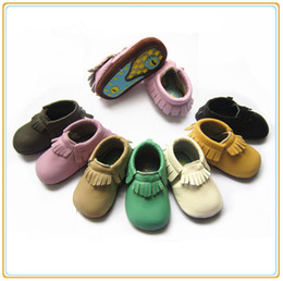 kids girl boy leather rubber soled moccasins tassel kids walker shoes fringe shoes toddler kids fringe shoes infant walker shoes