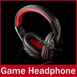 Wholesale Game headohones High Quality Genuine Surround Gaming Headset Stereo Headphone Powerful Bass Earphone with Mic