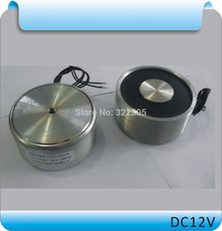 Wholesale ZYE1 P34 DC Stainless steel Round Electro Holding Magnet Electro Holding Force KG V V