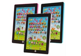 Wholesale Electronic Childrens Tablet Computer Ipad Kids Educational Play Read Game Toy Childrens Tablet Computer Ipad Kids Educational