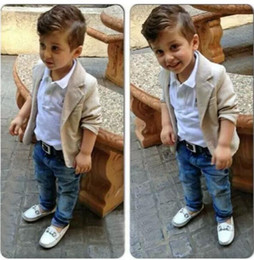 Boys Clothing Europe and the United States foreign trade new boy gentleman three piece suit children's clothes