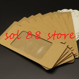 Wholesale Paper Retail Package Bags Mobile Phone Cases Custom Kraft Paper Packaging Packing Boxes for iPhone6 s s Galaxy S3 S4 Note