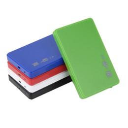 "1 Pc USB 2.0 480Mbps Enclosure Case Box for Laptop 2.5"" SATA Hard Drive Brand New"