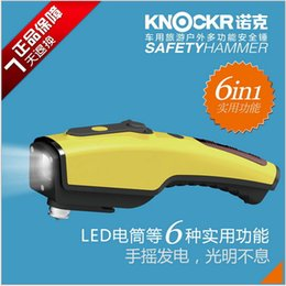 Wholesale Knox Six car safety hammer multifunctional outdoor car emergency rescue hammer car broken windows hammer hammer charge