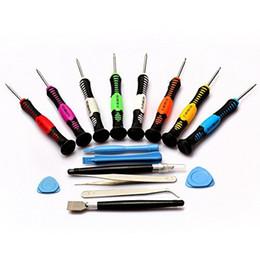 Wholesale-16 in 1 Repair Tools Screwdrivers Set Kit For  6 Plus 5 5s 4s Phone HTC