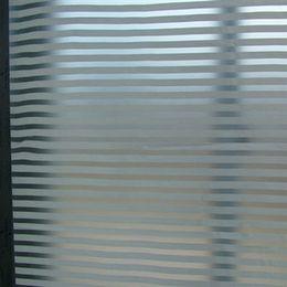 Wholesale 91cm width for meters Louver window scrub glass film window stickers bathroom transparent glass sticker