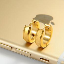 2015 NEW Wholesale fashion earrings for stainless steel earring of gold silver earrings for women men jewelry