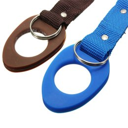 Wholesale New Arrive Carabiner Water Bottle Holder Clip Camping Hiking Outdoor Travel Buckle Aluminum