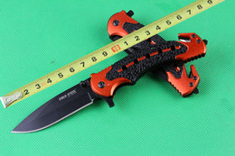 Outdoor gear cold steel 216 rescue knife survival knives 7CR17 57HRC Outdoor Camping Hunting Rescue Knife christmas gift 509L