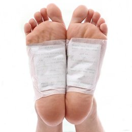 Wholesale Cleansing Detox Foot Pads Cleanse Energize Your Body SET Patches OPP bag packaging