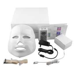 Wholesale Korean LED Photodynamic Facial Mask Home Use Beauty Instrument Anti acne LED Skin Rejuvenation LED Photodynamic Facial Mask