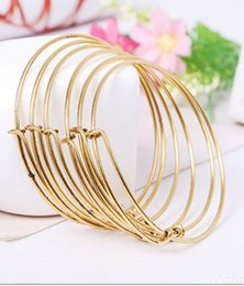 Wholesale Silver Gold Alex and Ani Wire bracelet adjust alloy bangle cuff statement jewelry band for women mens DIY bracelets