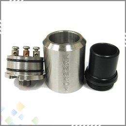 Wholesale Newest Kennedy RDA Stainless Steel Atomizer Dual Direct Bottom Air Holes Rebuildable Kennedy Atomizer with Copper Pin fit all Mechanical Mod