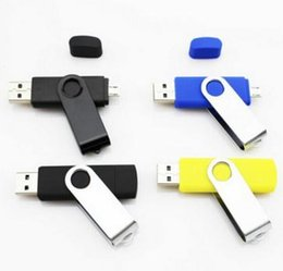 Wholesale otg usb flash drive can use for cellphone and computer