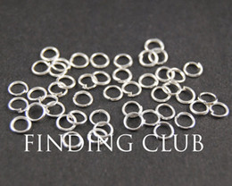 500 pcs 4mm 5mm 6mm Silver plated Open Jumprings Jump rings - Supplies Jewelry for DIY