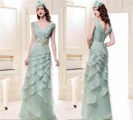 Elegant Off Shoulder Mother of the Bride Dresses with Short Sleeve Chiffon Long Groom Formal Dress Formal Gown Manu Garcia