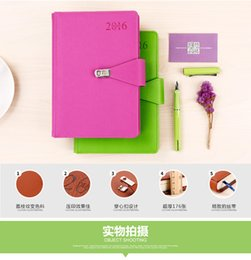 Wholesale 2016 New jialide A5 Business office Leather Notepad Creative cute notebook flipbook online shopping korea