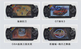 Best 4.3 inch color screen handheld game console 8GB memory not for psp console support nes games TF card video music camera