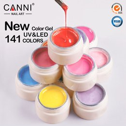 Wholesale W private label manufacturers CANNI new products Nail color gel nail art paint uv gel UV LED color gel