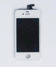 Wholesale Best Quality Front Assembly LCD Display Touch Screen Digitizer Replacement Part for iphone G S Black White DHL