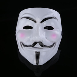 Wholesale 2015 High Quality V Masks Film Mask V For Vendetta Mask Masquerade Masks Halloween Mask Party Mask