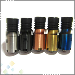 Wholesale 2015 RDA Atomizer Mutation X V4 Atomizer Vaporizer E Cigarette wtih Wide Bore Drip Tips mm floating pin colors DHL Free