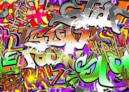 7x5ft Vinyl Custom Digital Photography Backdrops Prop Photo Studio Background Graffiti TY-099