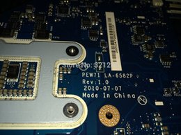 Wholesale Warranty day PEW71 LA P For Acer Aspire Laptop Motherboard Placa mae MBR4L02001