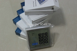 1 order= 5 pcs wholesales rfid card+keypad+password Access control system kit DIY Security office building and attendance system
