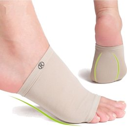 Plantar Fasciitis Arch Sleeve Arch Supports Heel Spurs Silicone Gel Foot Arch Insole Massage Orthotic Insole Pad