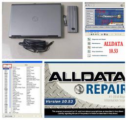 Wholesale 2016 car repair software alldata and Mitchell on demand Mitchell Software all data installed in D630 laptop GB