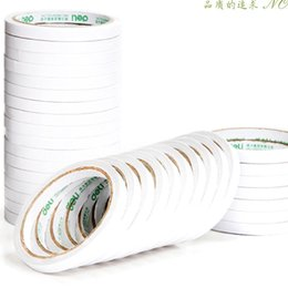 Wholesale 93mm X mm Clear double faced adhesive sticker tape sticky for paper fabrics touch panel have stock in fast ship