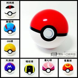 Wholesale 6Pcs Ball Figures ABS Anime Action Figures PokeBall Toys Super Master Ball Toys Pokeball Juguetes CM TOY149