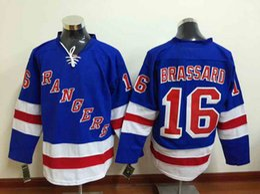 Wholesale New York Rangers Jerseys Derick Brassard Blue Jersey Cheap Hockey Stitched Jerseys Mix Order