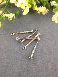 Wholesale Hot Sale Charms Pendant Antique Silver Tone Alloy Musical Instrument Charm Loose Beads Pendant Fit Fashion Jewelry Making