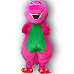 Wholesale Barney mascot costume adult size barney mascot costume