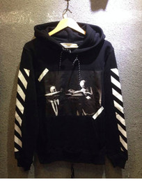 Wholesale Best Version OFF White c o Virgil Abloh Hoodies Pyrex Vision religion painting Hooded Sweatshirts colors