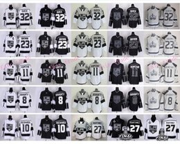 Wholesale Los Angeles Kings Hockey Jerseys LA Kings Drew Doughty Anze Kopitar Milan Lucic Jonathan Quick Wayne Gretzky