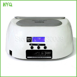 Wholesale High Quality W LED nail art lamp for salon shop gel uv nail polish curing dryer Nail Beauty Equipment